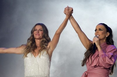 Gisele Bündchen e Ivete cantam  ''Imagine'' na abertura do Rock in Rio 2017