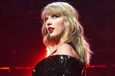 Taylor Swift é vista gravando videoclipe de 'End Game'