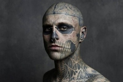 Morre aos 32 anos, Zombie Boy, o modelo do clipe de 'Born This Way', da Lady Gaga